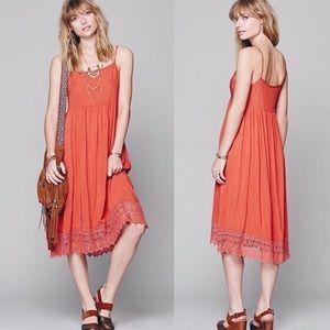 Free People Intimately Easy Breezy Slip Midi Dress